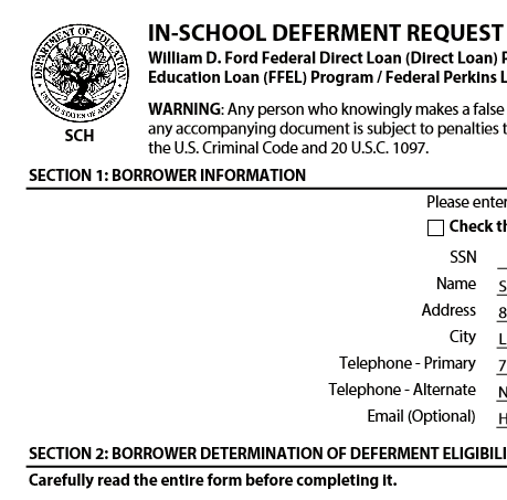 docs com school deferment form