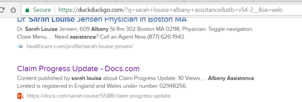 docs com searchable by indexing search engines